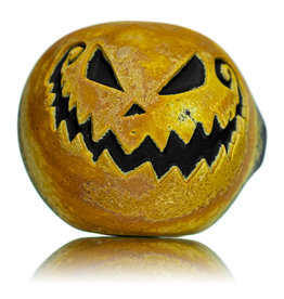 """Witch DR SOLD DOCTOBER 2020 5"""" Stone Tech x Witch DR Frosted Glass Dry Pumpkin Pipe (J)"""