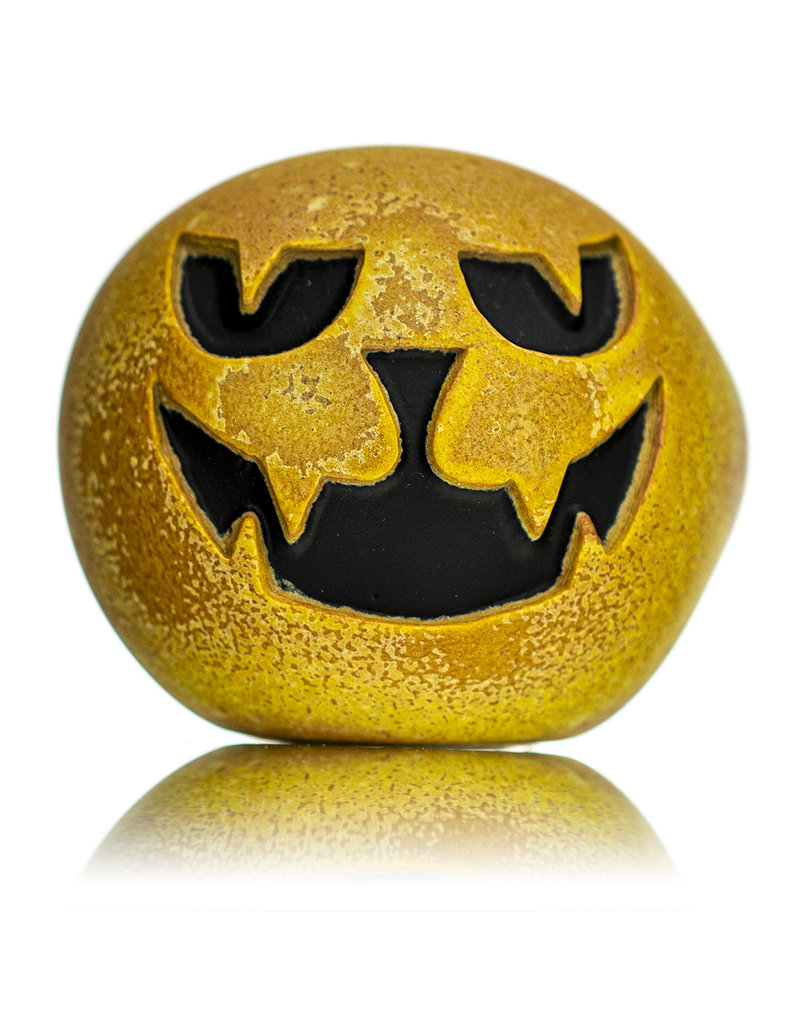 """Witch DR DOCTOBER 2020 5"""" Stone Tech x Witch DR Frosted Glass Dry Pumpkin Pipe (N)"""