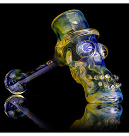 "Bob Snodgrass SOLD 5"" Glass Pipe DRY Bob Snodgrass Top Hat #3 SFG.2020"