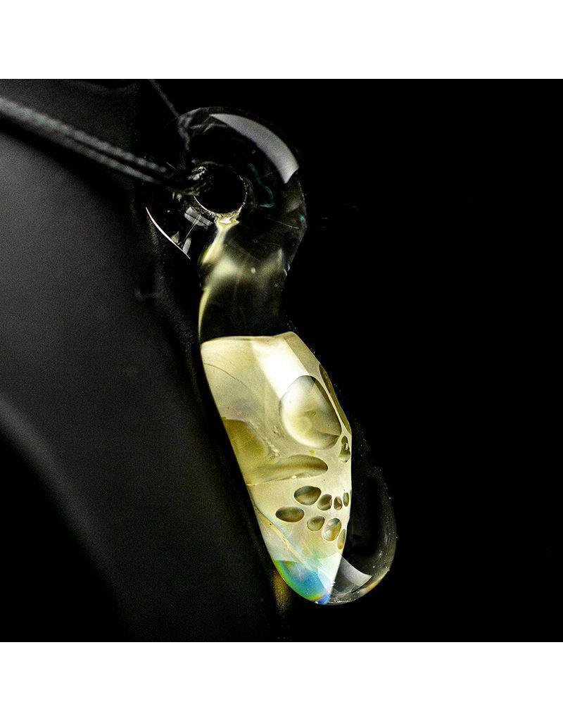 Bob Snodgrass Glass Skull Pendant (A) by Bob Snodgrass SFG.2020