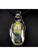 Bob Snodgrass Glass Skull Pendant (B) by Bob Snodgrass SFG.2020