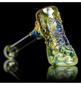"""Ginny Snodgrass-Gietl 5"""" Glass Pipe DRY Seahorse (A) by Ginny Snodgrass-Gietl SFG.2020"""