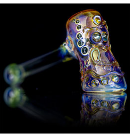 "Ginny Snodgrass-Gietl SOLD 5"" Glass Pipe DRY Owl (A) by Ginny Snodgrass-Gietl SFG.2020"