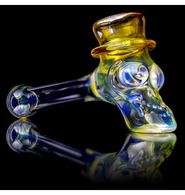 "Ginny Snodgrass-Gietl SOLD 5"" Glass Pipe DRYTop Hat (A) by Ginny Snodgrass-Gietl SFG.2020"