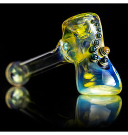 "Ginny Snodgrass-Gietl SOLD 4"" Glass Pipe DRY Jewel (A) by Ginny Snodgrass-Gietl SFG.2020"