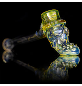 "Bob Snodgrass SOLD 5"" Glass Pipe DRY Top Hat #5 by Bob Snodgrass SFG.2020"