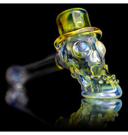 "Bob Snodgrass SOLD 5"" Glass Pipe DRY Top Hat #6 by Bob Snodgrass SFG.2020"