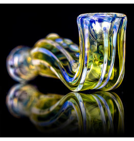 "Jonathan Gietl SOLD 4"" Glass Pipe DRY Jonathan Gietl Minute Pipe SFG.2020"