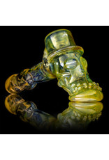"Bob Snodgrass 5"" Glass Pipe DRY Bob Snodgrass Short Stem Top Hat SFG.2020"