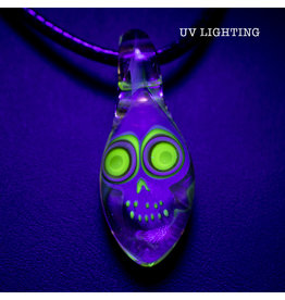 Ginny Snodgrass-Gietl Glass Pendant with UV Accents (E) by Ginny Snodgrass-Gietl SFG.2020