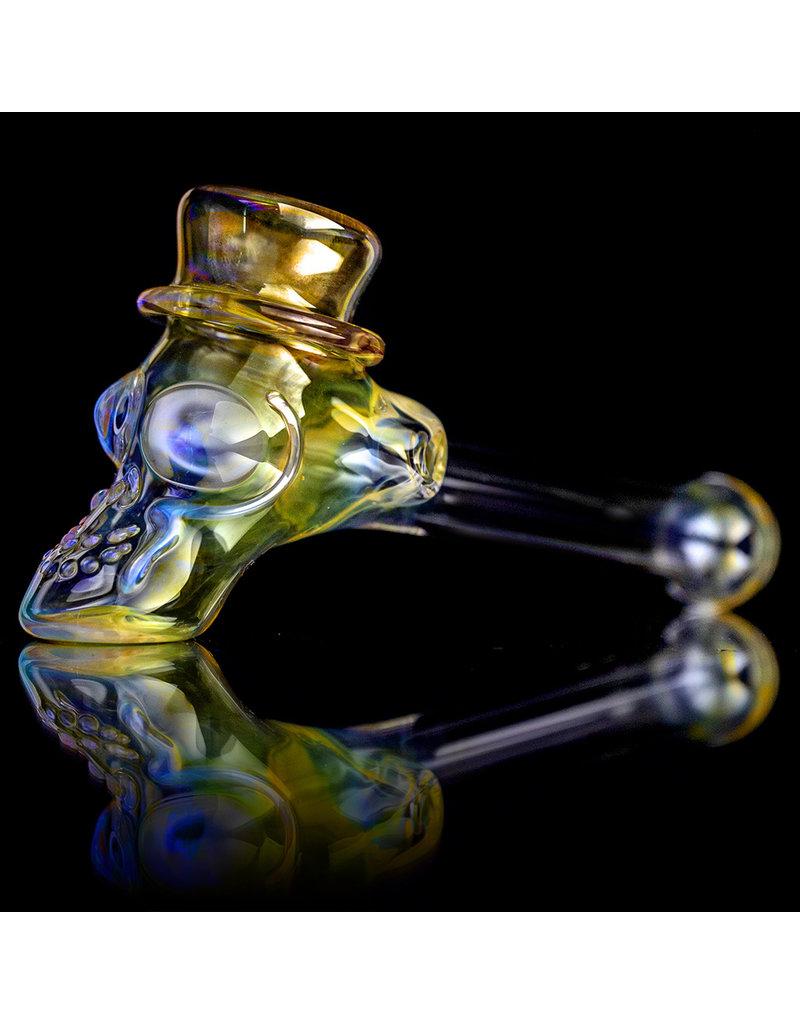 "Ginny Snodgrass-Gietl 5"" Glass Pipe DRYTop Hat (A) by Ginny Snodgrass-Gietl SFG.2020"