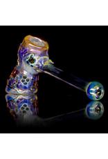 """Ginny Snodgrass-Gietl 5"""" Glass Pipe DRY Owl (A) by Ginny Snodgrass-Gietl SFG.2020"""