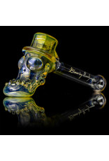 "Bob Snodgrass 5"" Glass Pipe DRY Top Hat #5 by Bob Snodgrass SFG.2020"