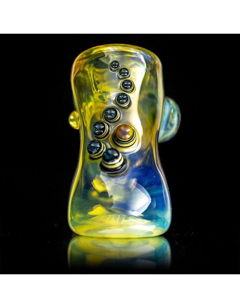 "Ginny Snodgrass-Gietl 4"" Glass Pipe DRY Jewel (A) by Ginny Snodgrass-Gietl SFG.2020"