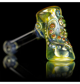 """Ginny Snodgrass-Gietl 5"""" Glass Pipe DRY Jewel (B) by Ginny Snodgrass-Gietl SFG.2020"""