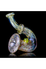 "Evan Cals 5"" Glass Pipe Dry Fume Upright Sherlock (i) by Evan Cals"