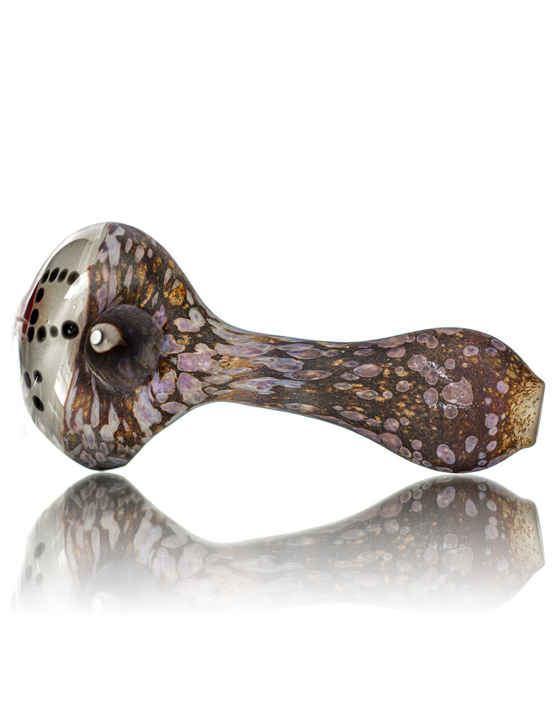"Stone Tech Glass DOCTOBER.2020 5"" Glass Pipe DRY HOCKEY MASK SLASHER (G) by Stone Tech Glass"