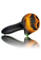 """Witch DR DOCTOBER 2020 5"""" Frosted Orange Frit Pumpkin Dry Pipe i by Witch Dr Studio"""