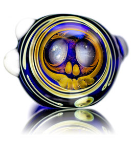 "SOLD 4"" Fume Skull Cap Pipe by Built2Last M"
