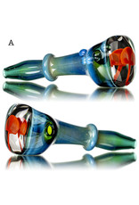 "BATCH.454 5"" Glass Pipe Mushroom Window Pipe by KD"