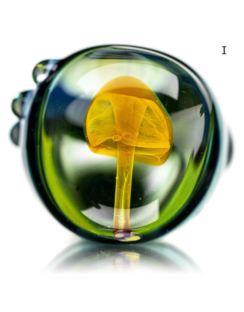 "BATCH.350 5"" Glass Pipe Mushroom Window Pipe by KD"