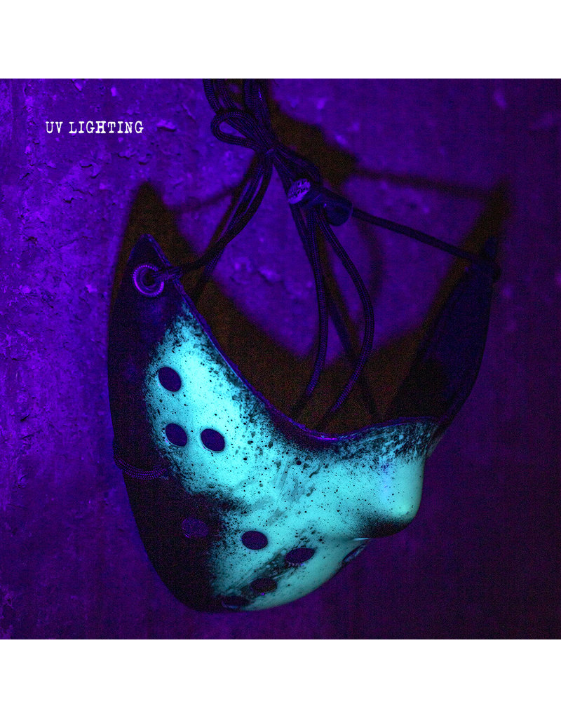 Friday the 13th UV Reactive Jason  Mask Uncle Boogieman Creations (B)
