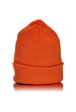 Witch DR Witch DR Embroidered Fleece Lined Beanie ORANGE