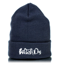 Witch DR Witch DR Embroidered Fleece Lined Beanie NAVY (other colors available)