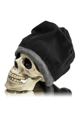 Witch DR Witch DR Embroidered Fleece Lined Beanie GRAY