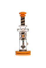 """14mm 9"""" Color Fab Tower  by Dynamic Glass (H) Golden Rod"""