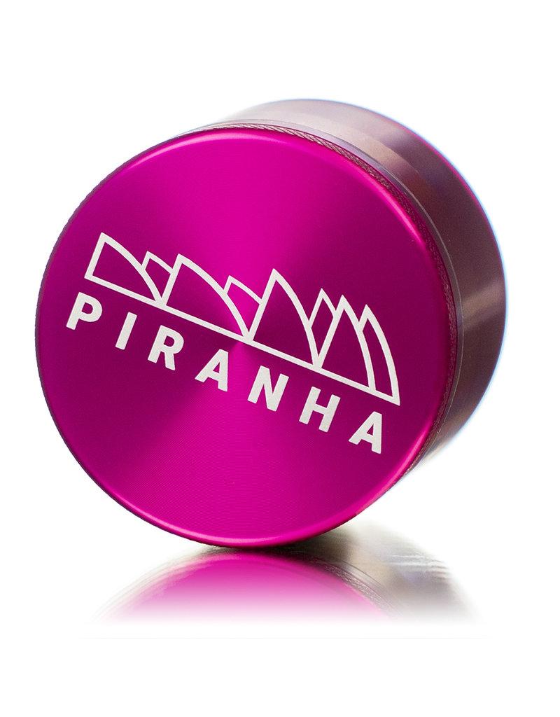 "4 Piece 2.0"" PINK Anodized Aluminum Grinder by PIRANHA"