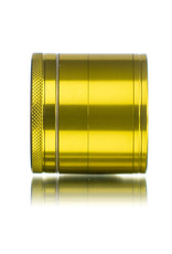 """4 Piece 2.0"""" GOLD Anodized Aluminum Grinder by PIRANHA"""