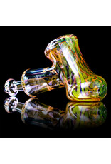 """5"""" Glass Dry Pipe ISO Fume Hammer (E) by Sully Reynolds"""
