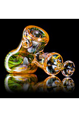 "5"" Glass Dry Pipe ISO Fume Hammer (G) by Sully Reynolds"