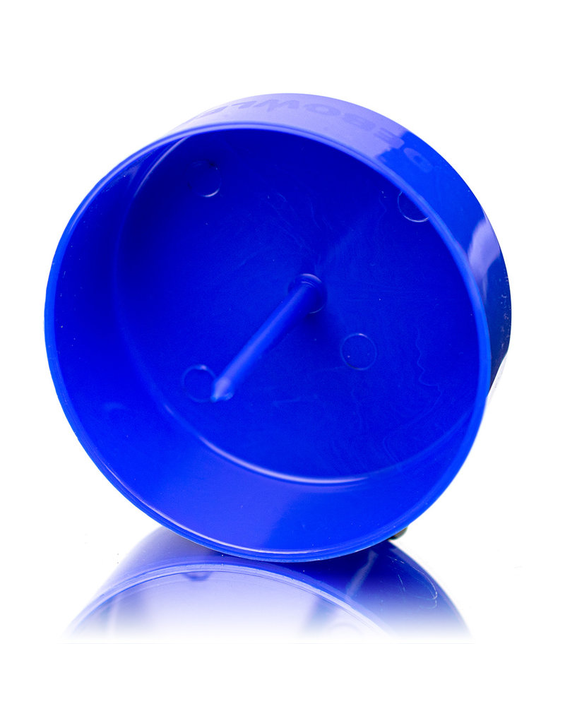 """2020 4"""" Debowler The Original Spiked Ashtray Blue"""