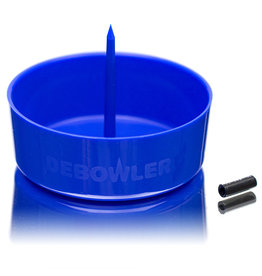 "2020 4"" Debowler The Original Spiked Ashtray Blue (also in Green, Black and Purple)"