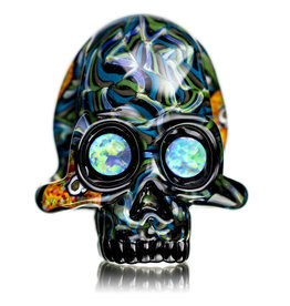 AKM AKM + PC Glass Skull Pendant Raffle Ticket