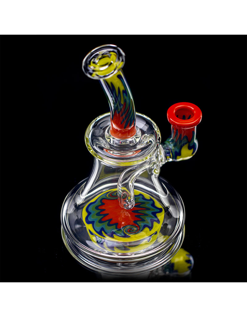 "Jemmie Bandy 14mm 6.5"" Dab Rig Worked Banger Hanger (P) by Jemmie Bandy"