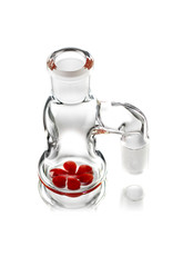 Witch DR 18mm 90 Degree CHERRY accented Dry Catcher by Witch DR Studio