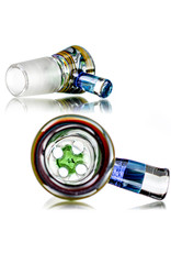 Witch DR 18mm Bong Bowl Slide with 4 Hole Glass Screen and Millie Chip Handle (H) by Witch DR