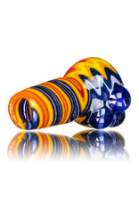 18mm Wig Wag Bong Bowl Slide  (A) by Gladstone Glass