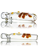 """6"""" Glass Steamroller Pipe Wake N Bacon by BW Glass"""