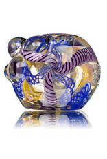 """4"""" Glass Dry Pipe Inside Out Lined Fume A by Glass by Mike"""