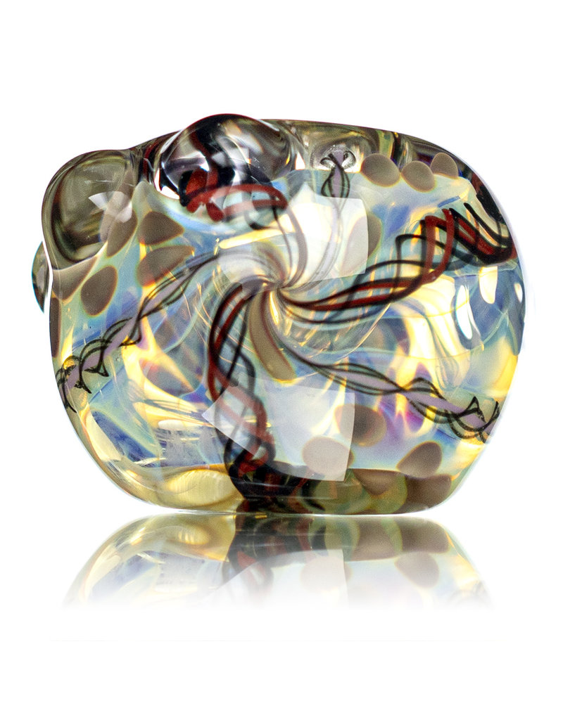 """4"""" Glass Dry Pipe Inside Out Lined Fume B by Glass by Mike"""
