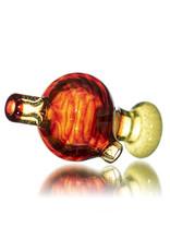 Keith Engelmann 25mm Multi Section Glass Bubble Cap H by Keith Engelmann