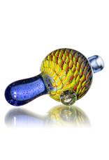 Keith Engelmann 25mm Multi Section Glass Bubble Cap L by Keith Engelmann
