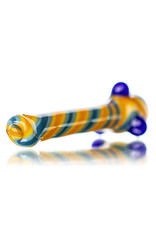 "Gurk 4"" Fully Worked Lined Chillum C by GURK Glass"