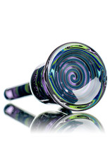 "Dan Longden 8"" 10mm 45 Dab Rig GRAPE mini Tube with removable downstem by Dan Longden"
