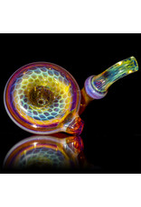 "BEAK Glass 4"" Glass Dry Pipe NORTHSTAR YELLOW Honeycomb Sherlock by BEAK Glass"