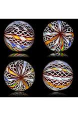 Glass Zanfirico Slurper Marble CONFETTI by Harold Cooney